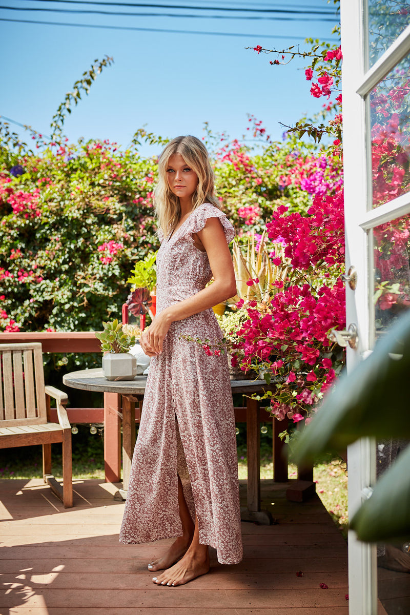 Addison Floral Maxi Dress