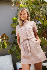 Alyssa Short Sleeve Dress