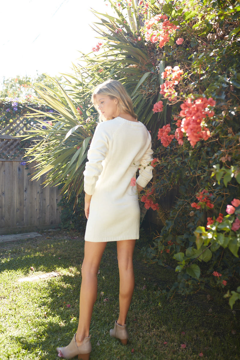 Brielle Cable Knit Dress