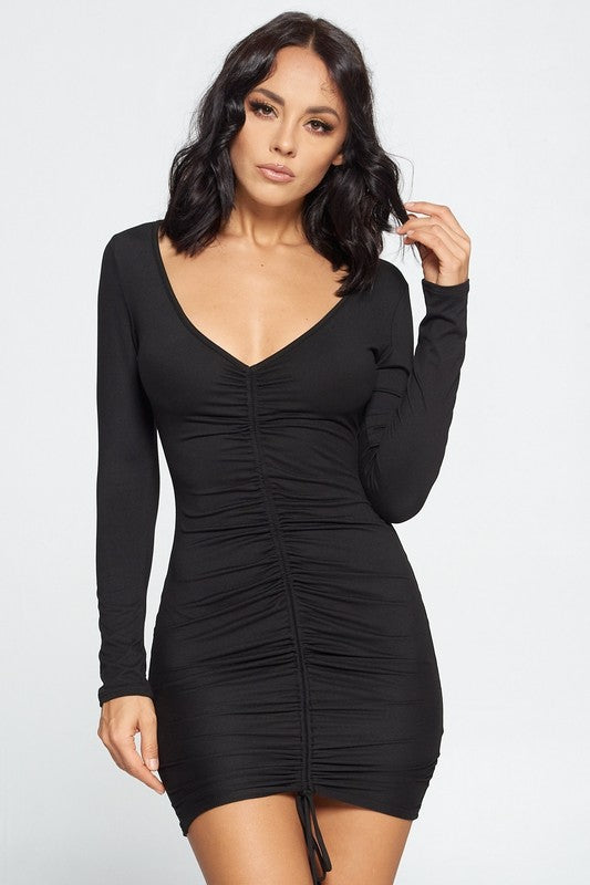 Aria Ruched Dress