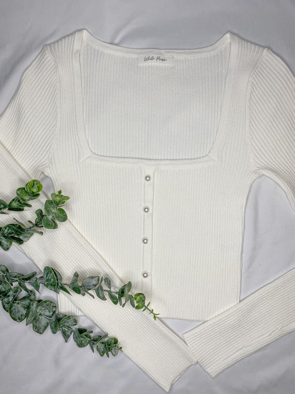 Madison Pearl Sweater Top