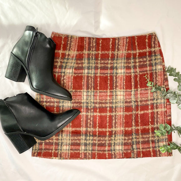 Cora Plaid Skirt