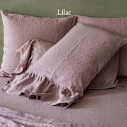 Side-Ruffle-Pillowcases-Set-Lilac