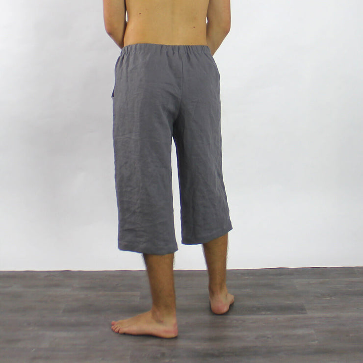 Linen Men's Bermuda Shorts