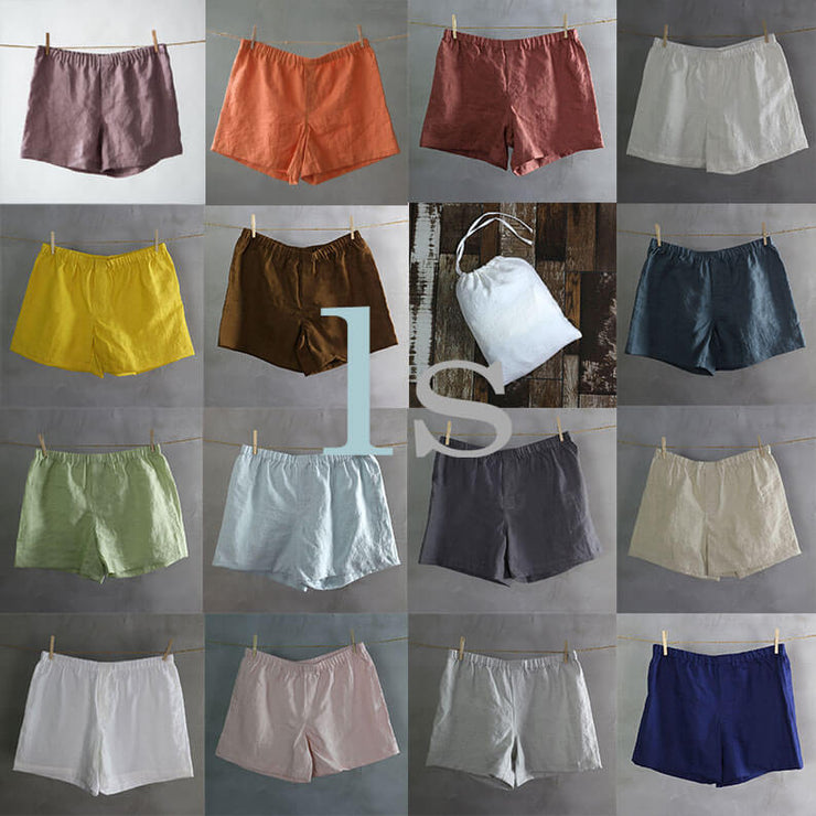 Choose your own set of Linen Boxer shorts