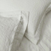 Opening At Back Of The Linen Pillow