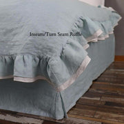 Two Tones inseam/Turn seam Bedspread - Linenshed