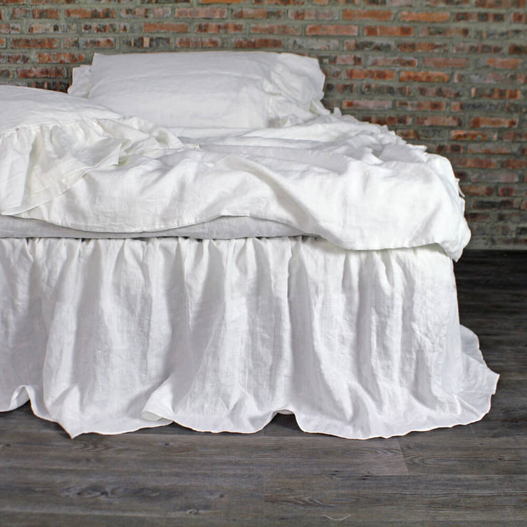 Gathered Ruffle Bed Skirt