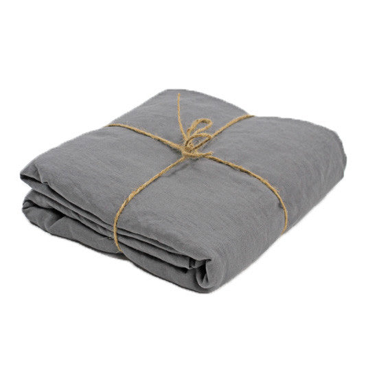 Deep Pocket Fitted Sheet Gray