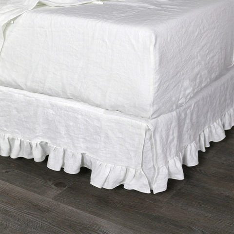 Soft Linen Fitted Sheet Queen Made To Order To Fit Any