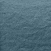 French Linen Fabric in French Blue