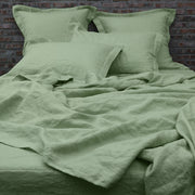 Bed Linen Flat Sheet Green Tea - Linenshed