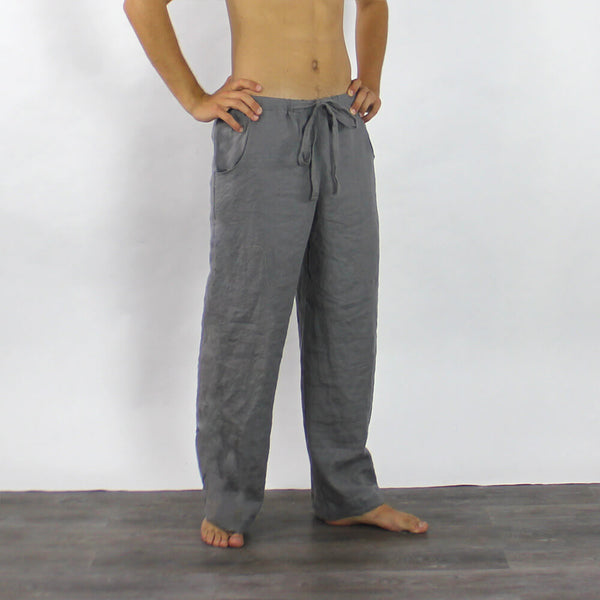 Linen Men's Casual Trousers