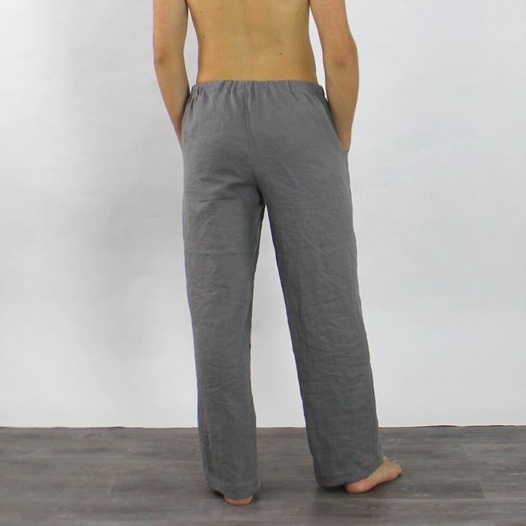 Mens Linen Pants Casual