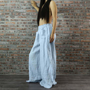 Women Palazzo Pants With Two Front Pockets