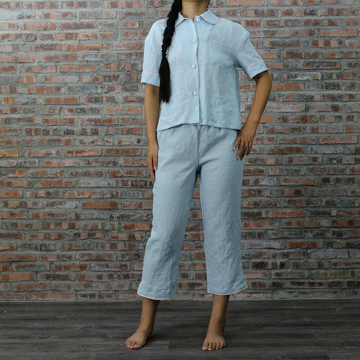 Megan Pajamas Set - Linenshed