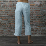 Capri pants of Megan Pajamas Set - Linenshed
