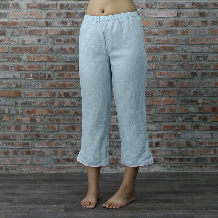 Pants of Megan Pajamas Set - Linenshed