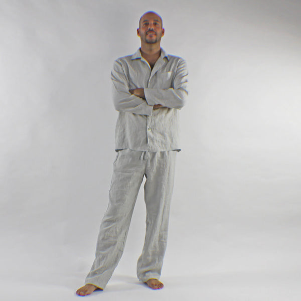 Softwashed Men S Linen Pajamas Set Linenshed Linenshed