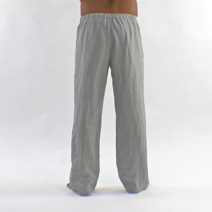 Back Detail Of The Mens Linen Pajamas Pants Online
