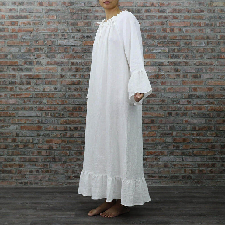 Raglan Long Night Dress