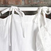 Tie Knots For Ruffles Linen Window Curtain