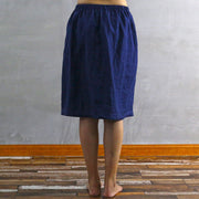 Side Buttoned Skirt 03 - Linenshed