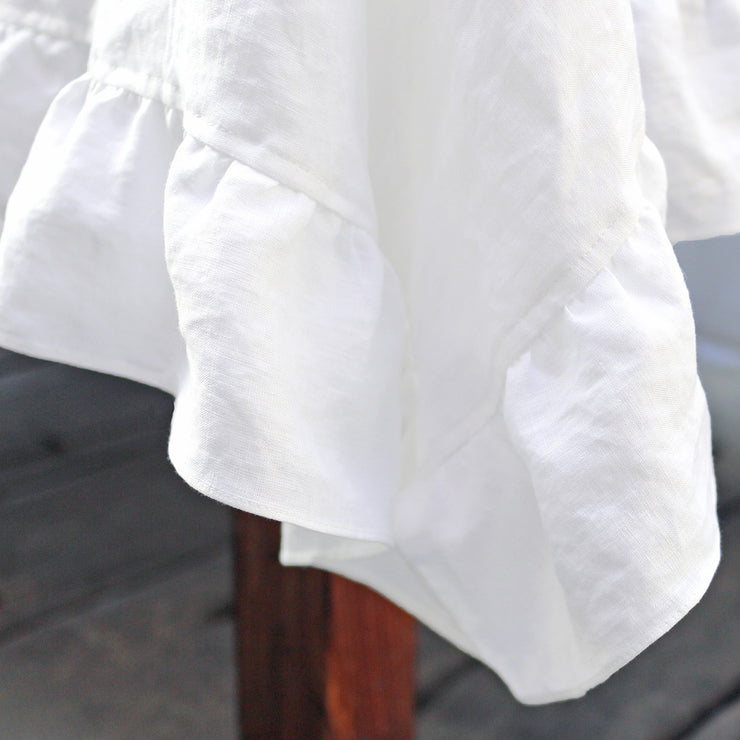 Farmhouse Linen Table Clothes
