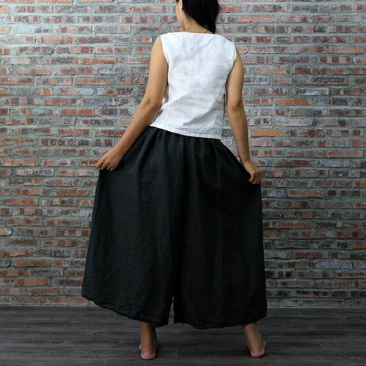 Tokyo Style Linen Pants - Linenshed - 4