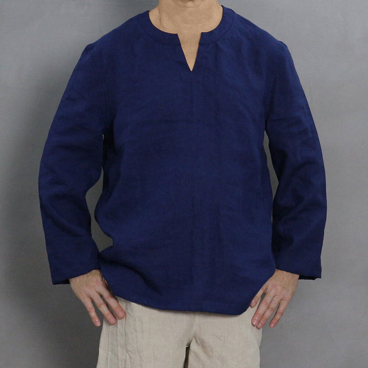 Men's Linen Tunic 1 - LINENSHED