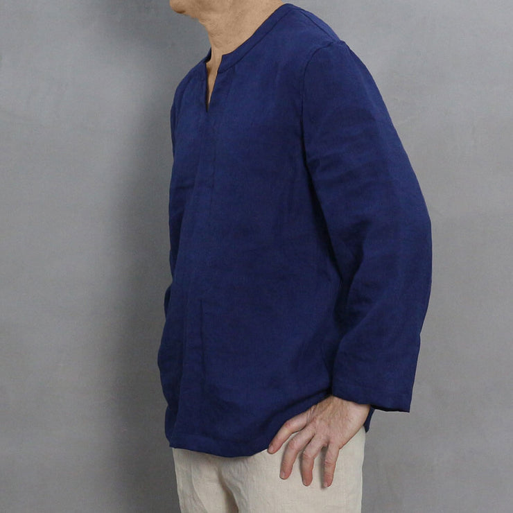 Men's Linen Tunic 2 - LINENSHED