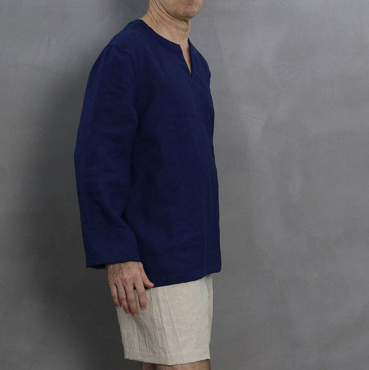 Men's Linen Tunic 3 - LINENSHED