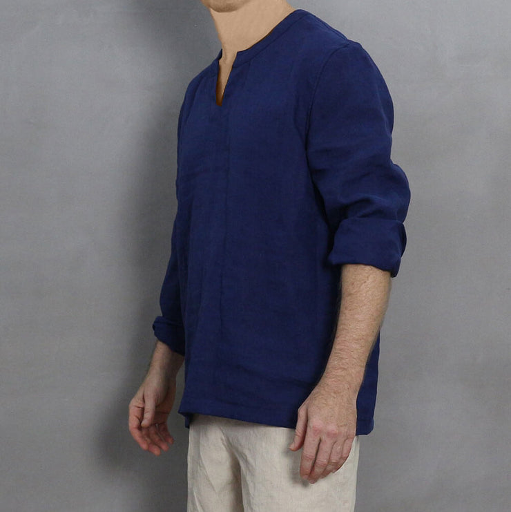 Men's Linen Tunic 4 - LINENSHED