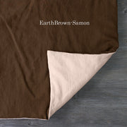 Two Tones Duvet Cover Earth-Samon