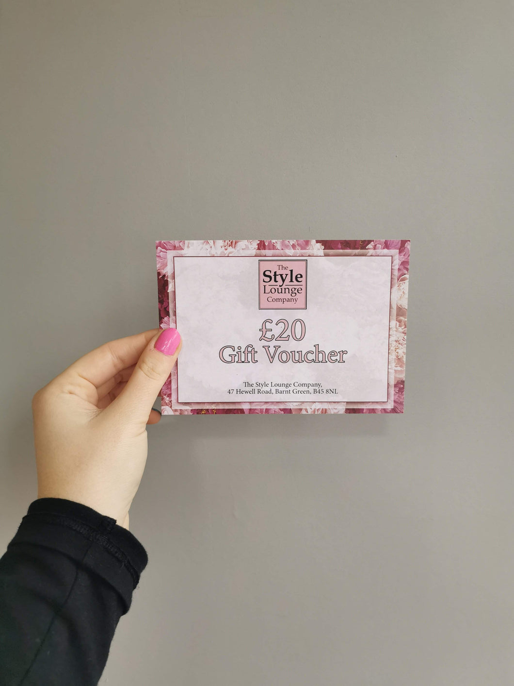 £20 Gift voucher to spend online or instore