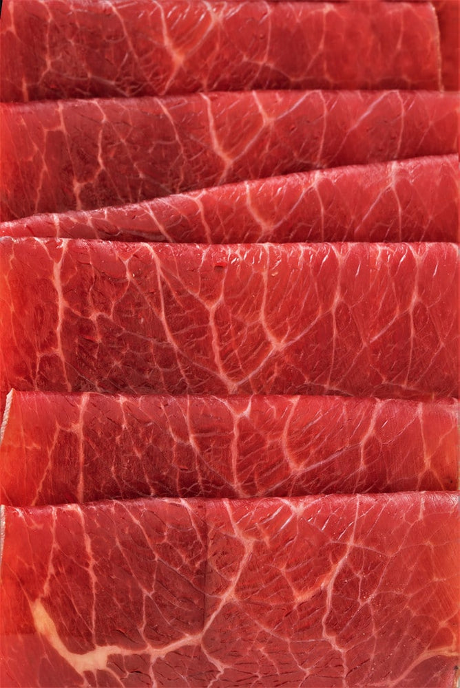 Halal Thinly Sliced Beef Bresaola