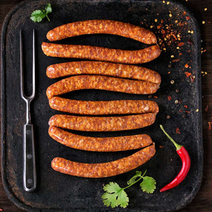 Halal Fresh Lamb Sausages