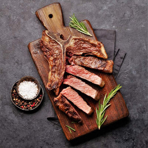 Load image into Gallery viewer, Halal T-Bone & Porterhouse Steak 600g