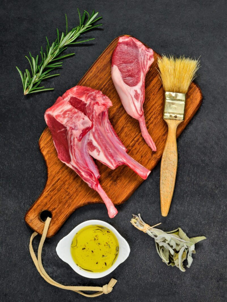Load image into Gallery viewer, Halal Lamb Front Chops