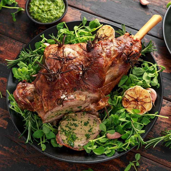 Load image into Gallery viewer, Halal Whole Lamb Leg
