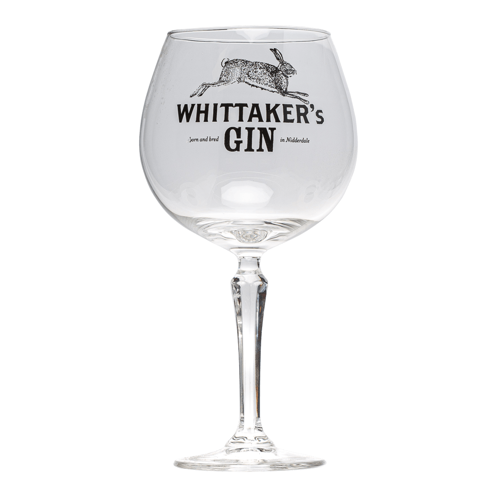 NEW Medium Whittaker's Gin Balloon Glass