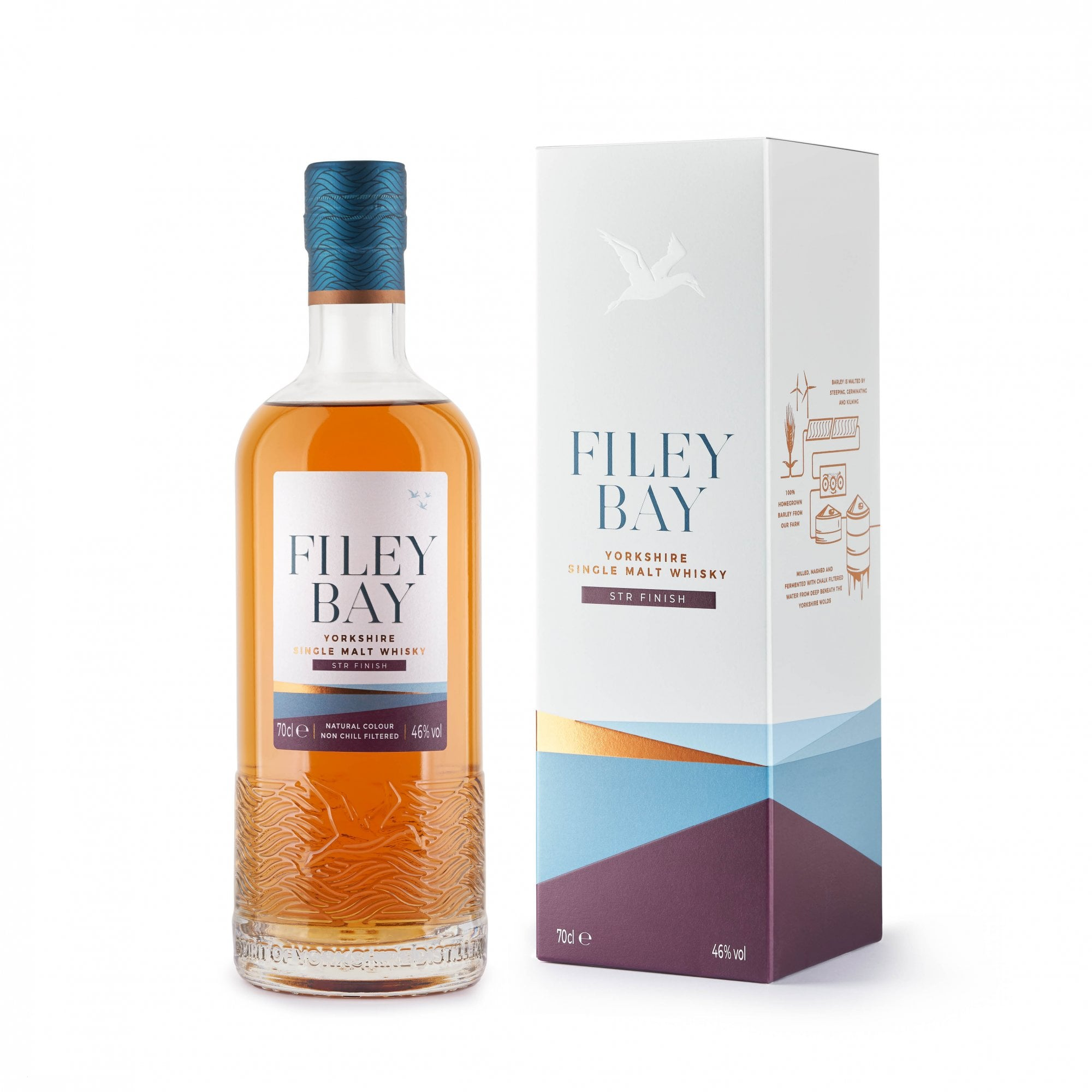 Filey Bay STR Finish Whisky 70cl