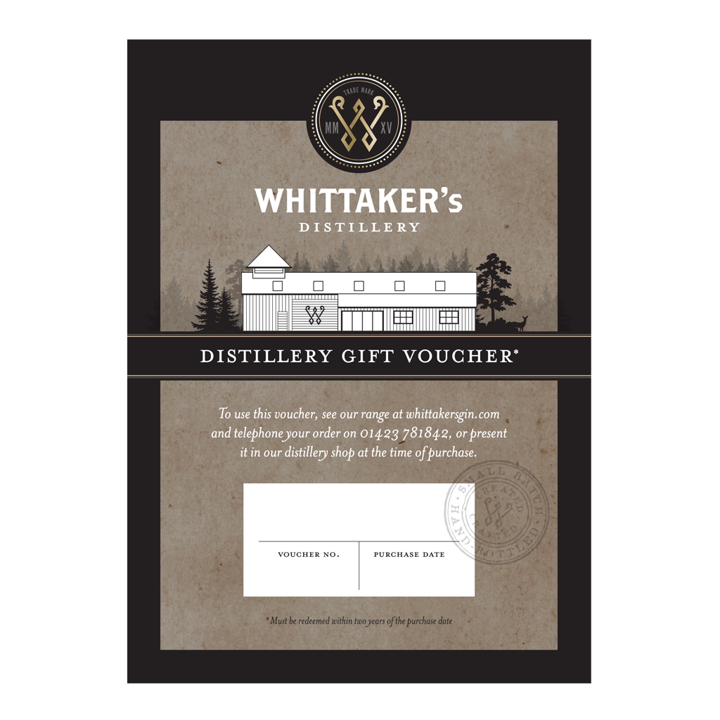 Whittaker's Distillery Gift Card