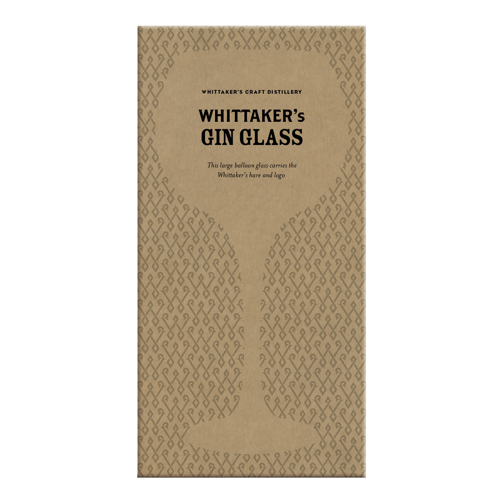 Whittaker's Gin Balloon Glass