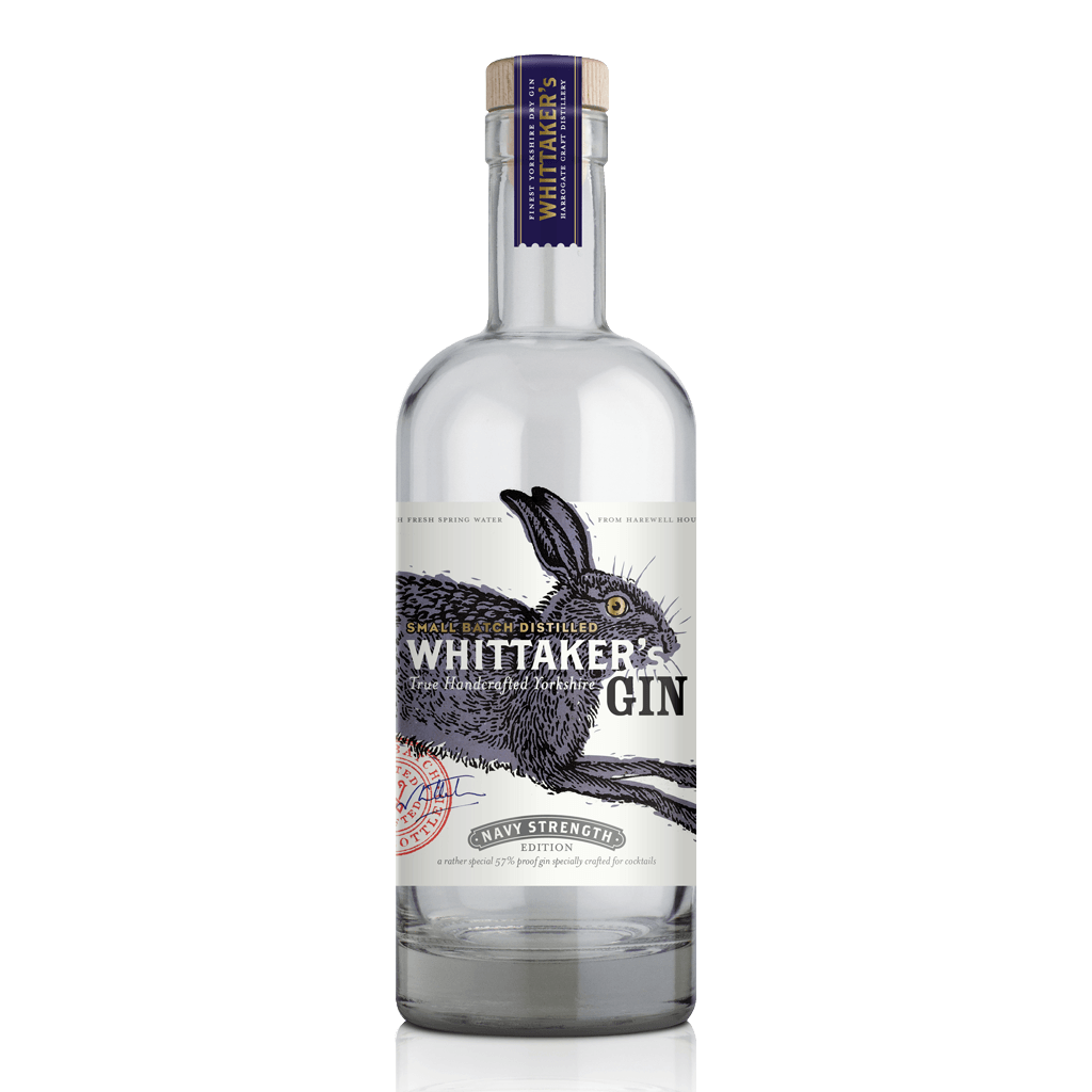 Whittaker's Gin Navy Strength - Strong Gin