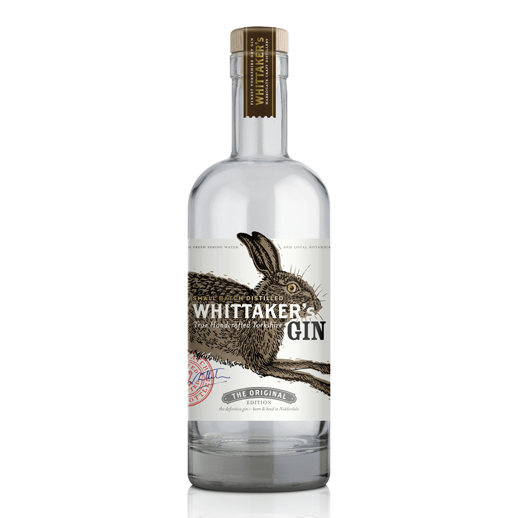 Whittaker's Gin Original Edition Best yorkshire gin