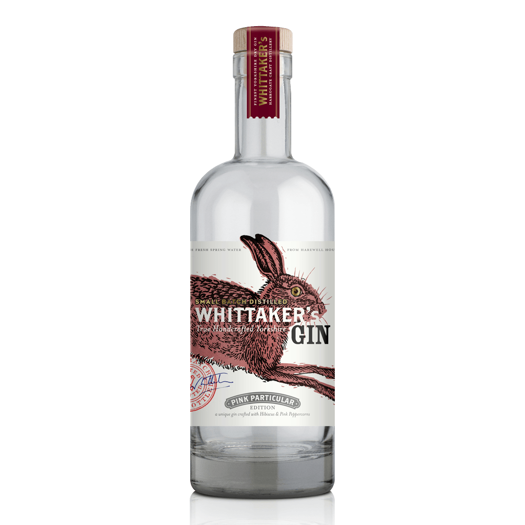 Whittaker's Gin Pink Particular Hibiscus