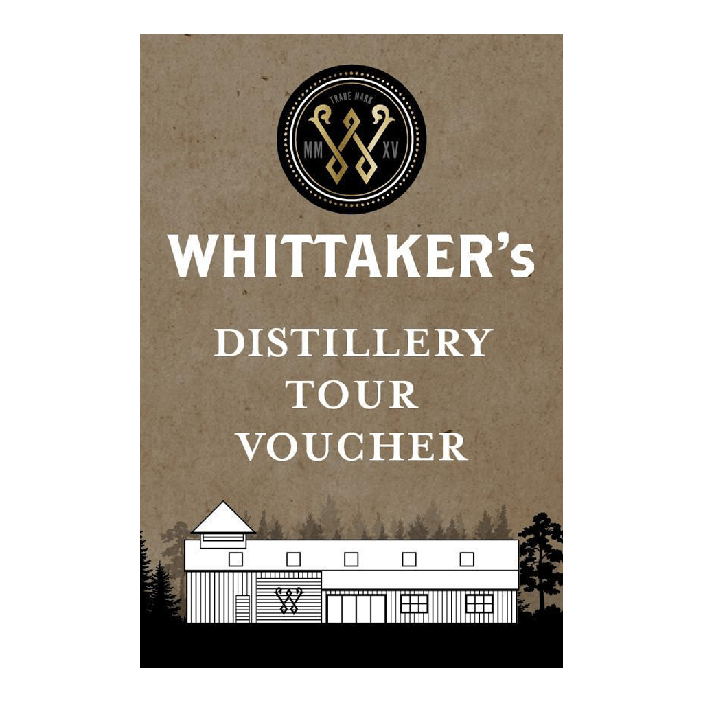 Whittaker's Distillery Tour Voucher