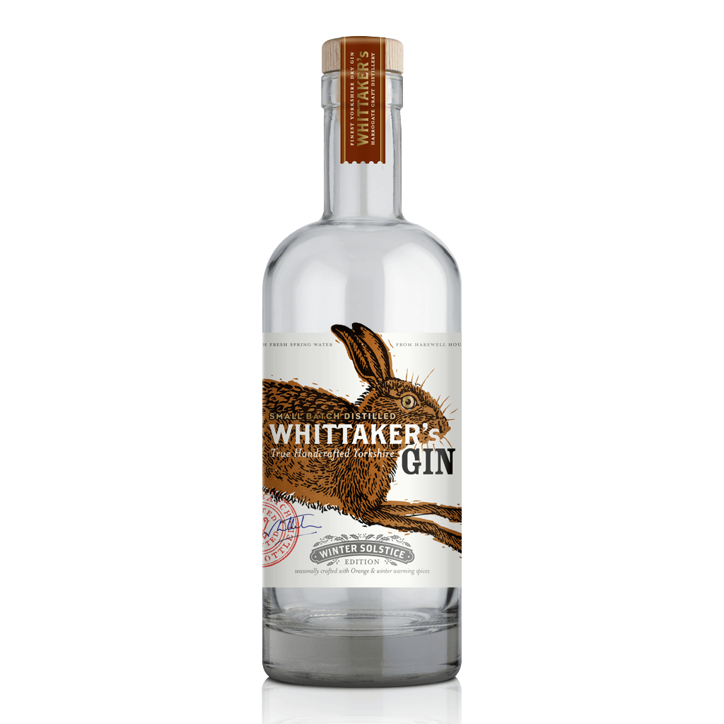 Whittaker's Gin Winter Solstice 70cl