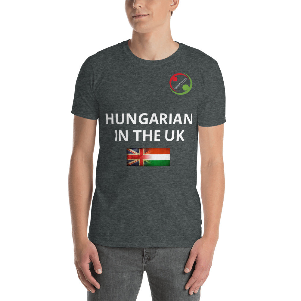 Hungarian in the UK unisex póló